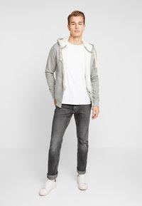 Produkt - PKTGMS TED HOOD - Bluza rozpinana - light grey melange - 1