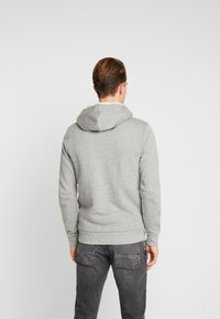 Produkt - PKTGMS TED HOOD - veste en sweat zippée - light grey melange - 2
