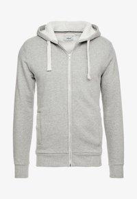 Produkt - PKTGMS TED HOOD - Bluza rozpinana - light grey melange - 3