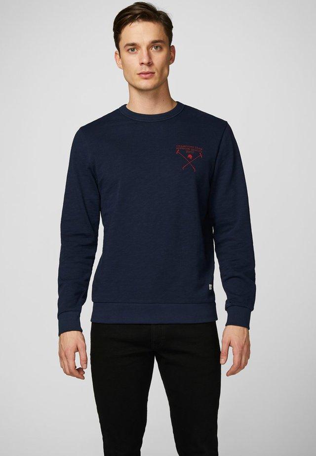 Sweatshirt - navy blazer