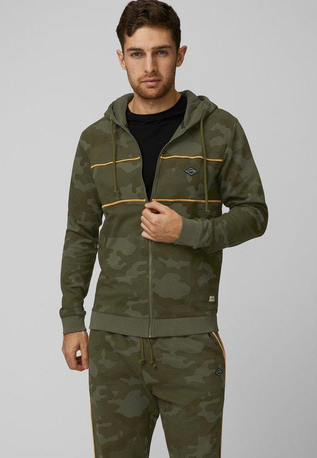 Zip-up hoodie - beetle