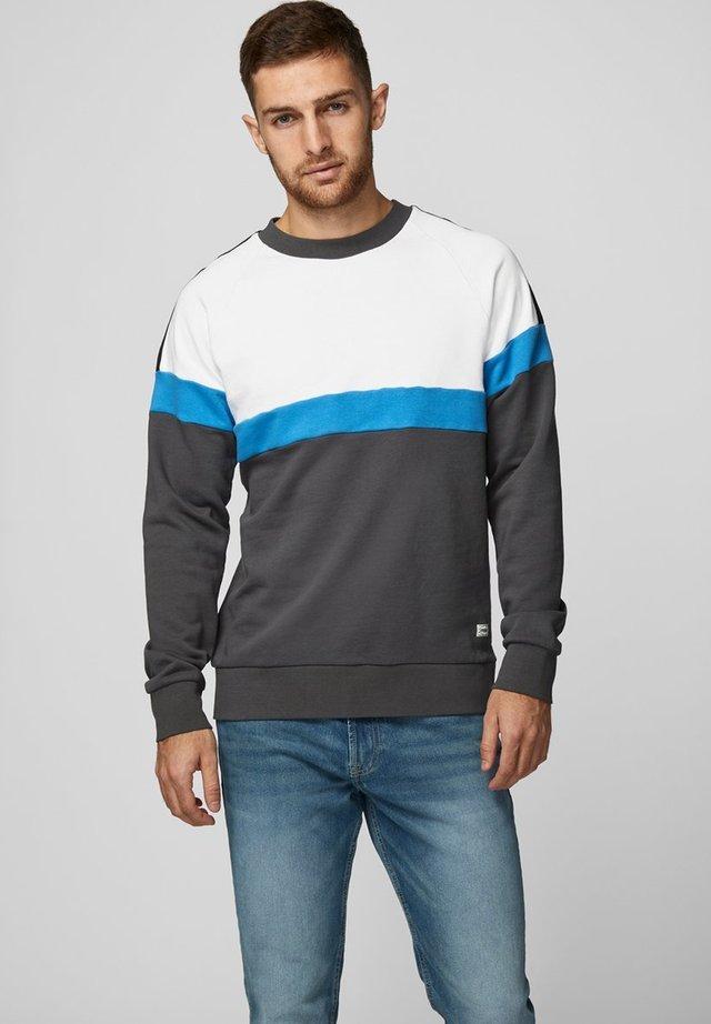 Sweatshirt - blue aster