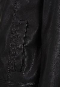 Produkt - Imitatieleren jas - black - 4