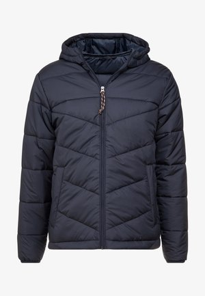 PKTAKM FORUM HOOD PUFFER JACKET - Light jacket - navy blazer