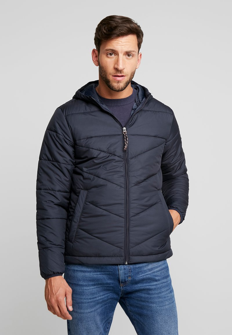 Produkt - PKTAKM FORUM HOOD PUFFER JACKET - Light jacket - navy blazer