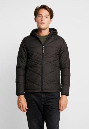 PKTAKM FORUM HOOD PUFFER JACKET - Light jacket - black