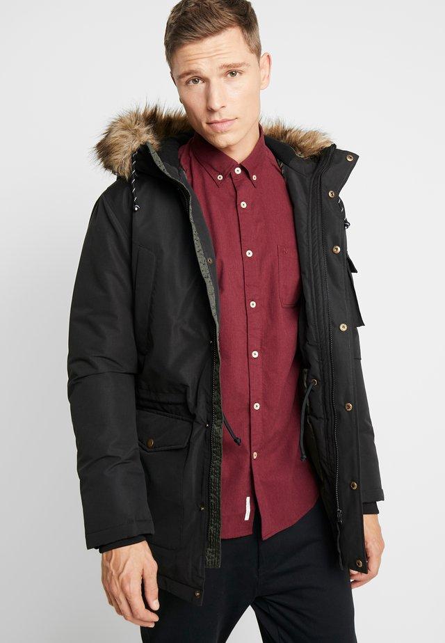 HERRY JACKET - Zimní kabát - black