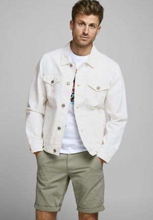 Jeansjacke - white denim