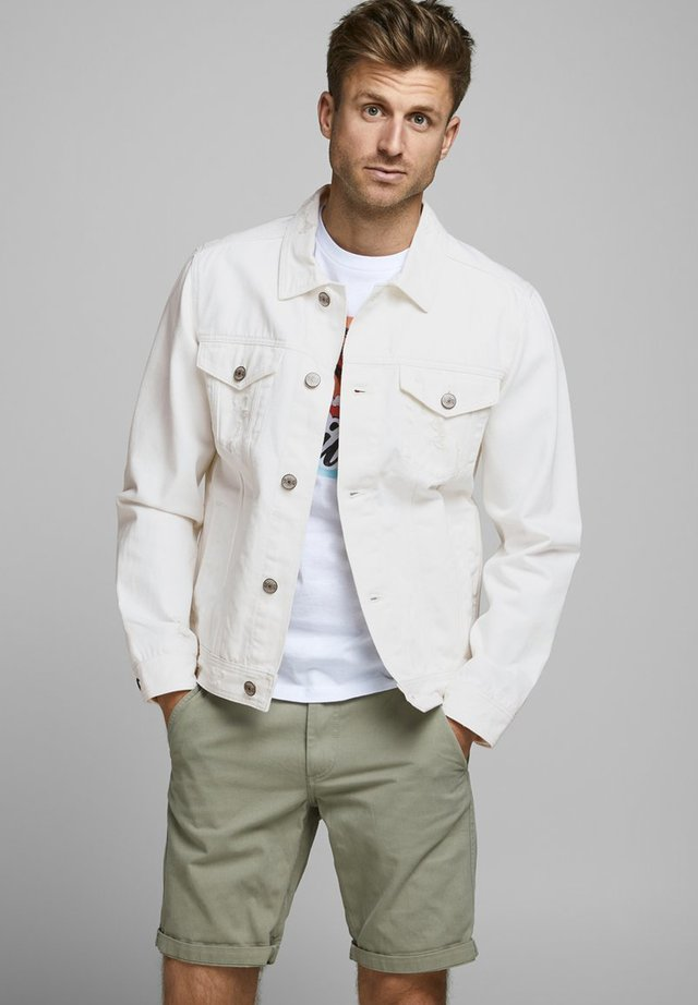 Jeansjacke - white denim