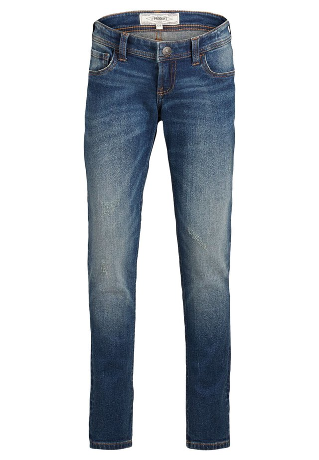 Slim fit -farkut - medium blue denim