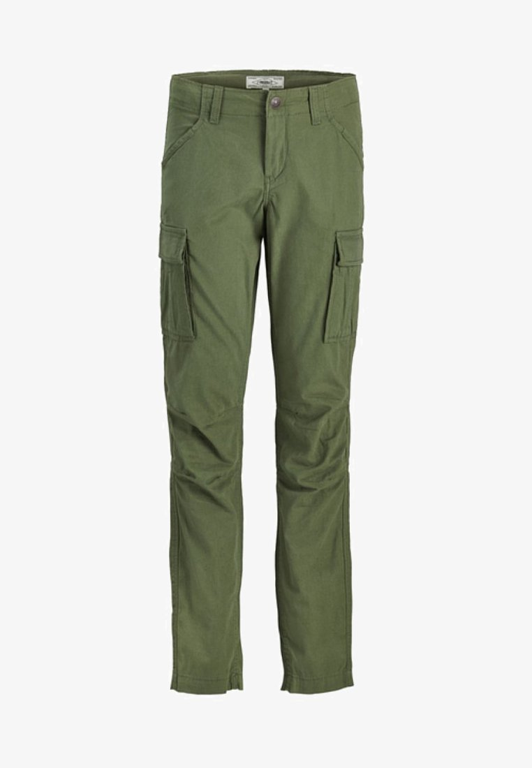 Produkt - Cargo trousers - dusty olive