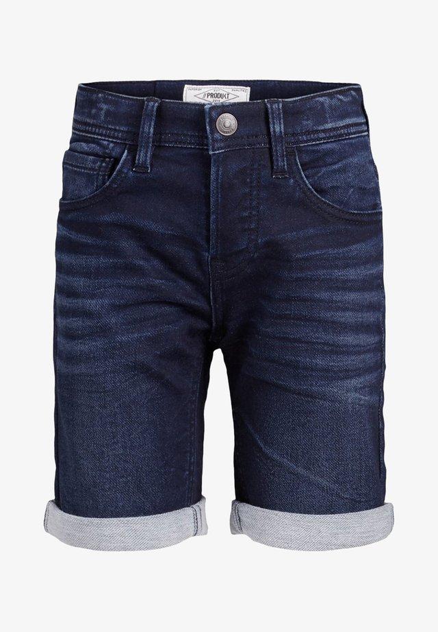 JEANSSHORTS JUNIOR - Jeans Shorts - dark blue denim