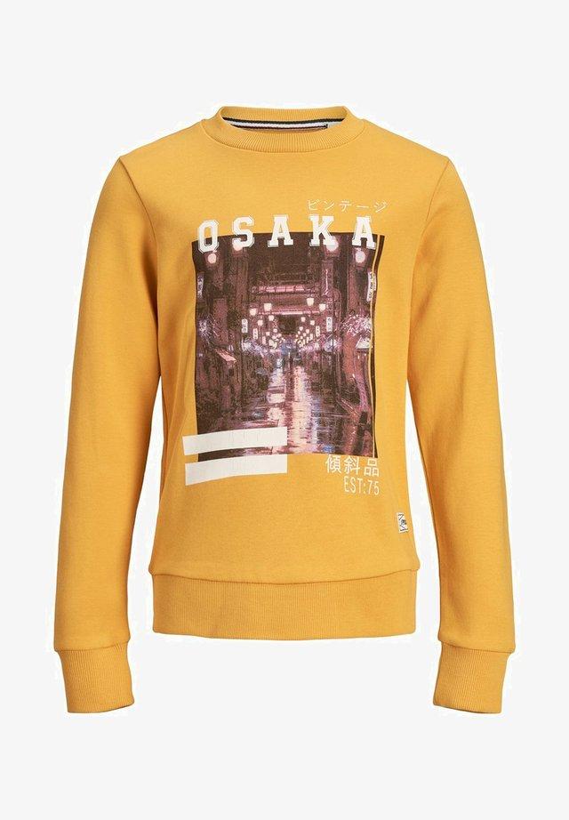JUNIOR - Sweatshirt - golden glow