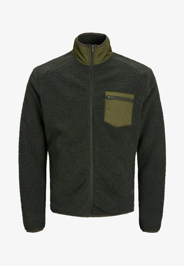 Fleece jacket - rosin