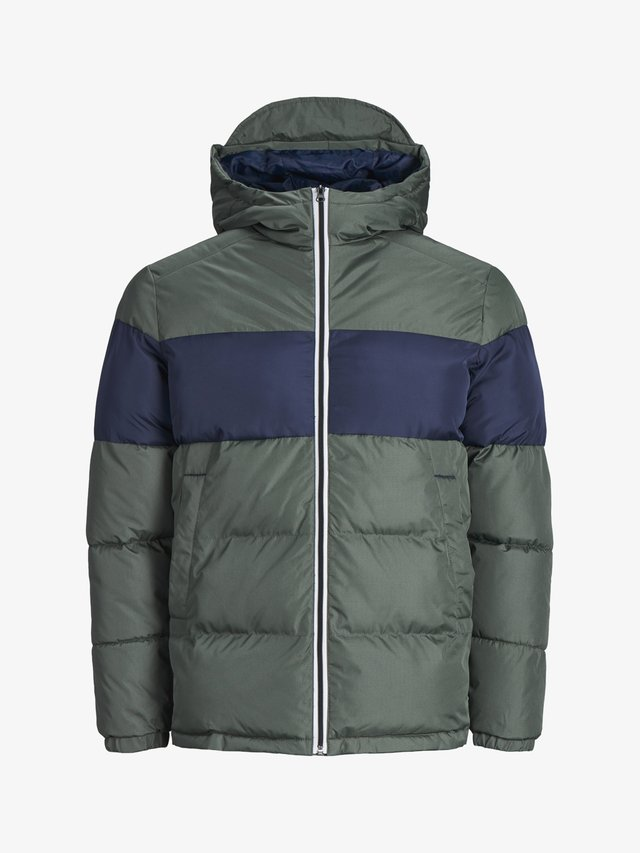 Winterjacke - grey denim