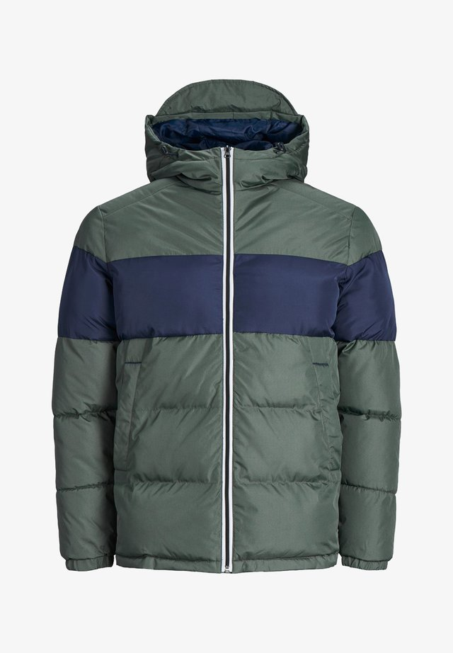 Winter jacket - grey denim