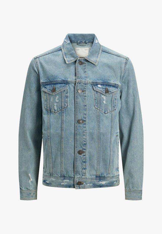 Jeansjacke - light blue denim