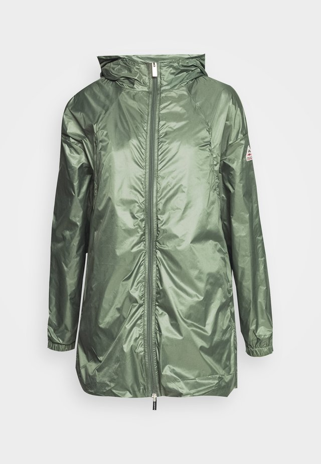 WATER REPELLENT AND WINDPROOF - Regnjakke / vandafvisende jakker - jungle