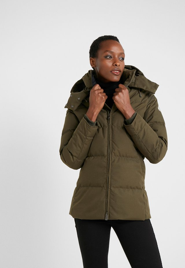 LILLE - Down coat - sauge