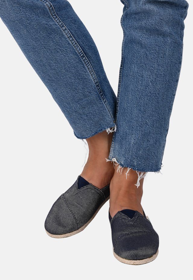 CLASSIC DAY & SPARKS NAVY 034 - Espadrilles - navy blue