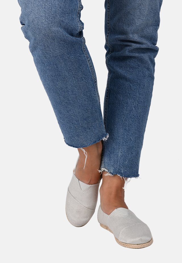 CLASSIC DAY & SPARKS SILVER 034 - Espadrilles - silver