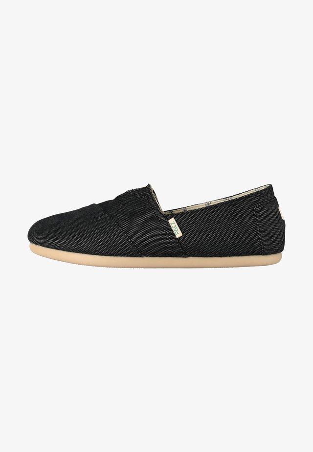 CLASSIC COMBI BLACK 040 - Espadrilles - black