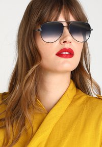 QUAY AUSTRALIA - HIGH KEY MINI - Sunglasses - black - 1