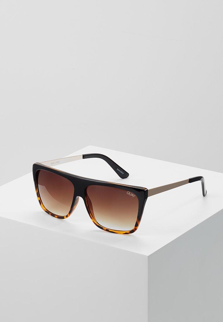 QUAY AUSTRALIA - OTL II - Sonnenbrille - black/brown