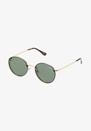 FARRAH - Sunglasses - gold-coloured/green