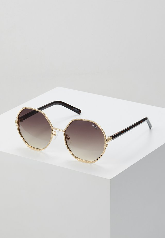 BREEZE IN - Sonnenbrille - gold-coloured/brown