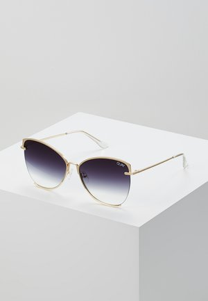 DUSK TO DAWN - Sunglasses - gold coloured/smoke