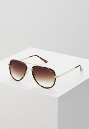 ALL IN MINI - Sonnenbrille - mottled brown