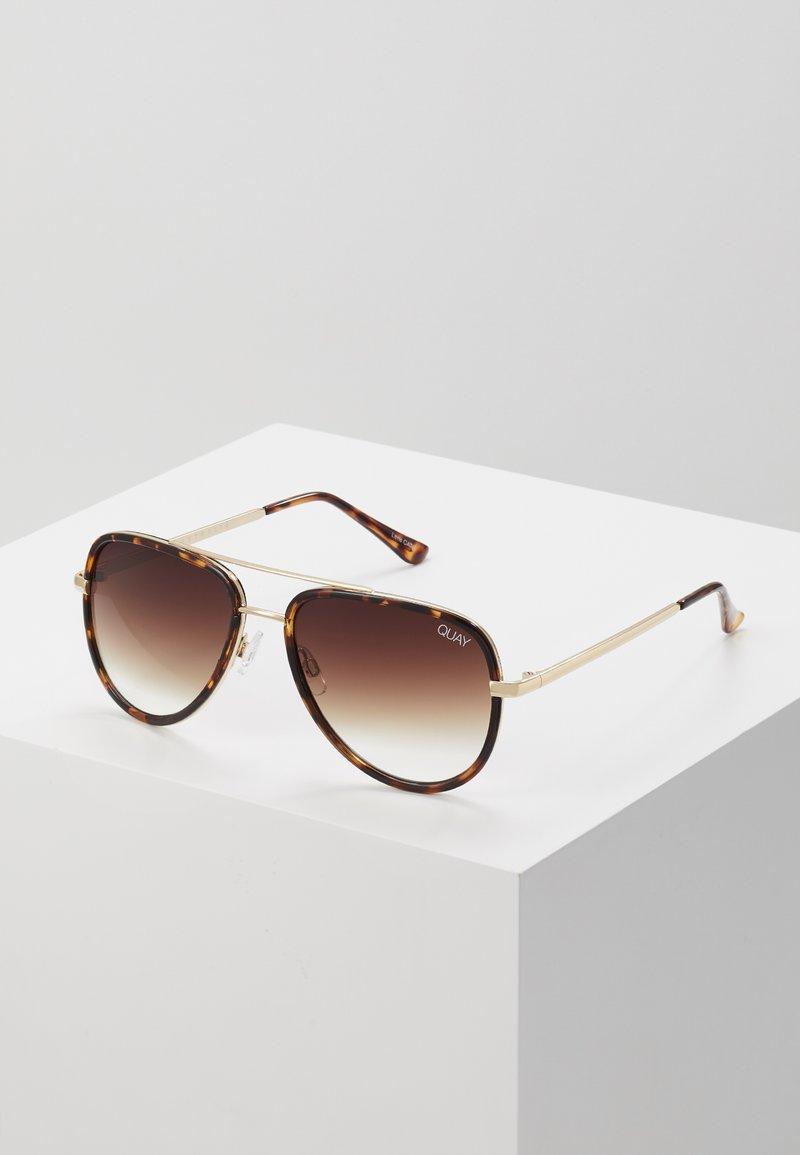 QUAY AUSTRALIA - ALL IN MINI - Sunglasses - mottled brown