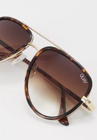 QUAY AUSTRALIA - ALL IN MINI - Sunglasses - mottled brown - 2