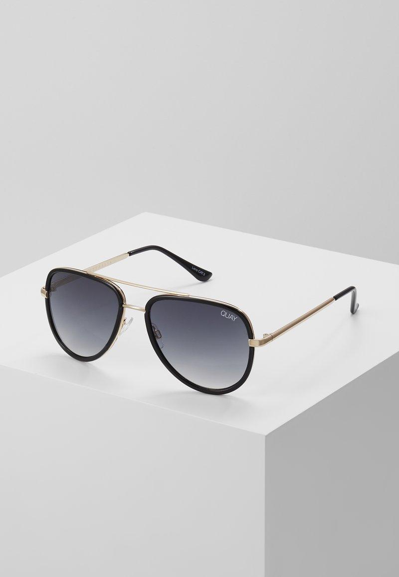 QUAY AUSTRALIA - ALL IN MINI - Sunglasses - black