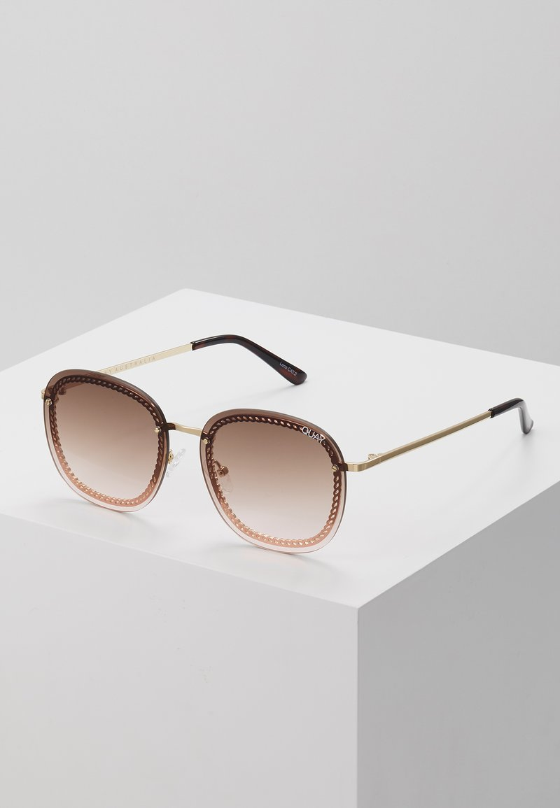 QUAY AUSTRALIA - JEZABELL CHAIN - Zonnebril - gold-coloured/brown/pink