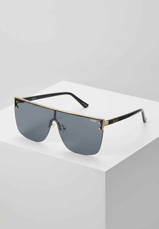 BLOCKED - Solglasögon - gold-coloured/smoke