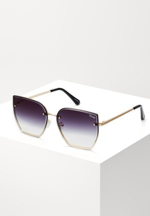 AROUND THE WAY - Lunettes de soleil - gold-coloured