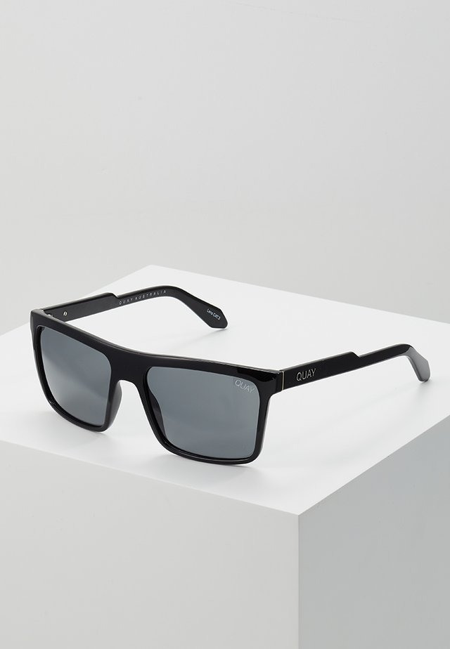 LET IT RUN - Lunettes de soleil - black/smoke