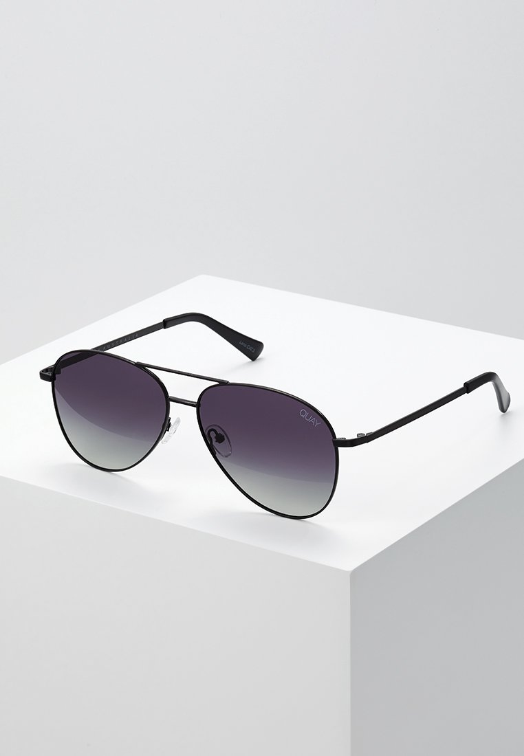 QUAY AUSTRALIA - STILL STANDING - Sluneční brýle - black/smoke