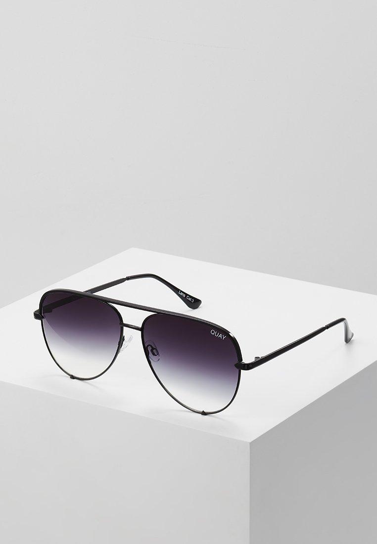 QUAY AUSTRALIA - HIGH KEY - Sunglasses - black