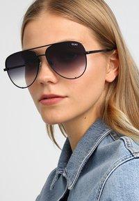QUAY AUSTRALIA - HIGH KEY - Sunglasses - black - 2