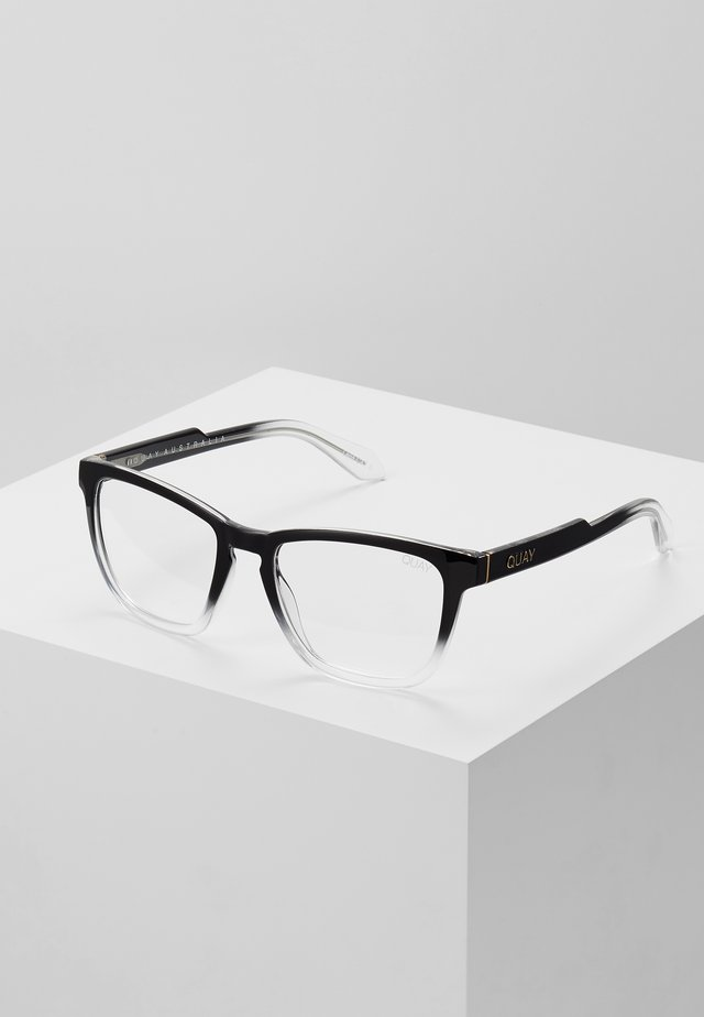 HARDWIRE  BLUE LIGHT - Sonnenbrille - black/transparent