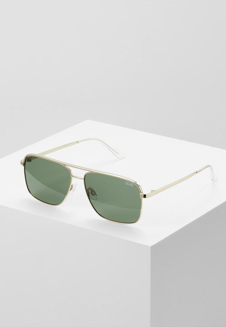 QUAY AUSTRALIA - POSTER BOY - Sonnenbrille - gold-coloured/green