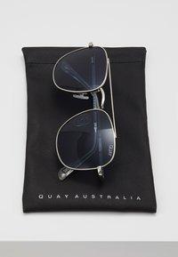 QUAY AUSTRALIA - HELIOS - Sluneční brýle - silver-coloured/navy - 2
