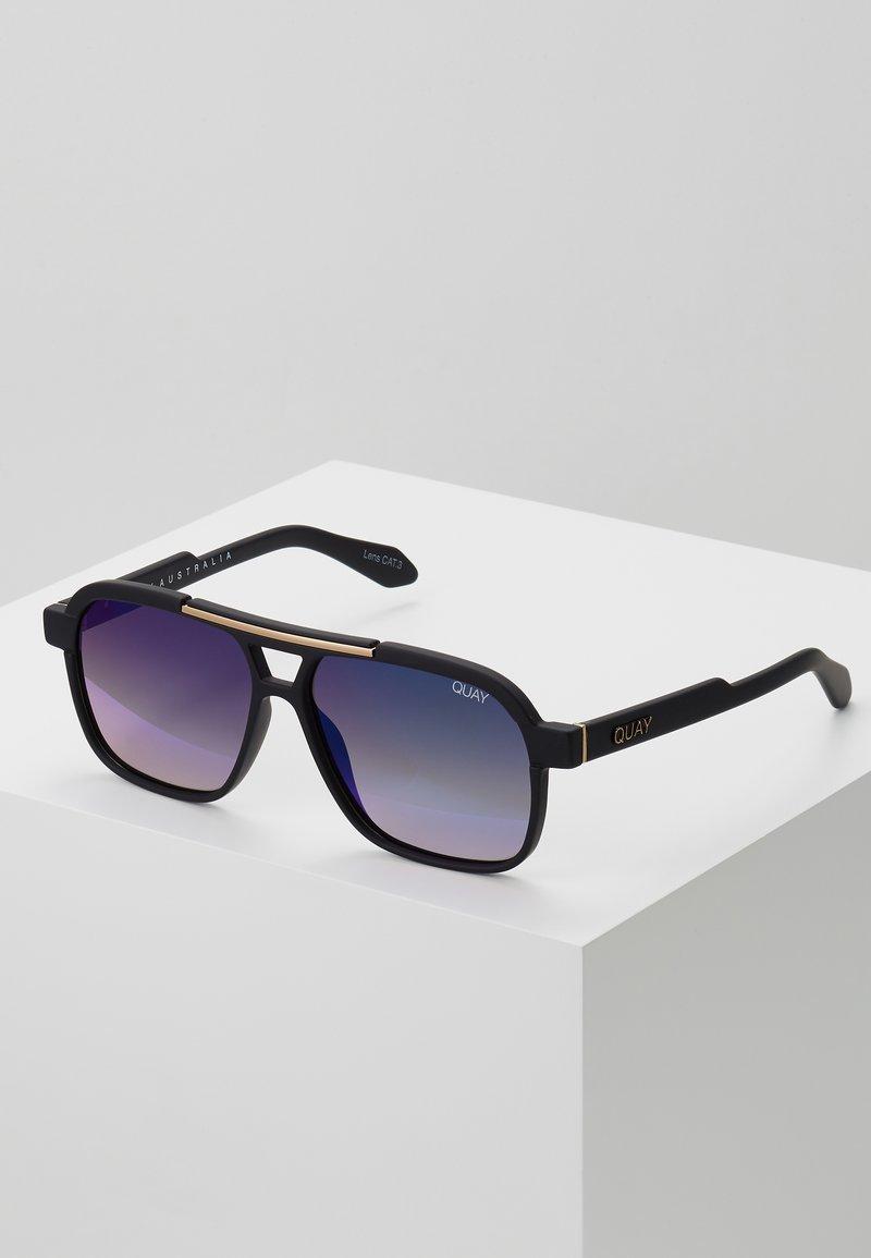 QUAY AUSTRALIA - NEMESIS - Sunglasses - matte black/navy