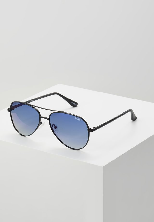 FIRST CLASS - Sunglasses - black/navy