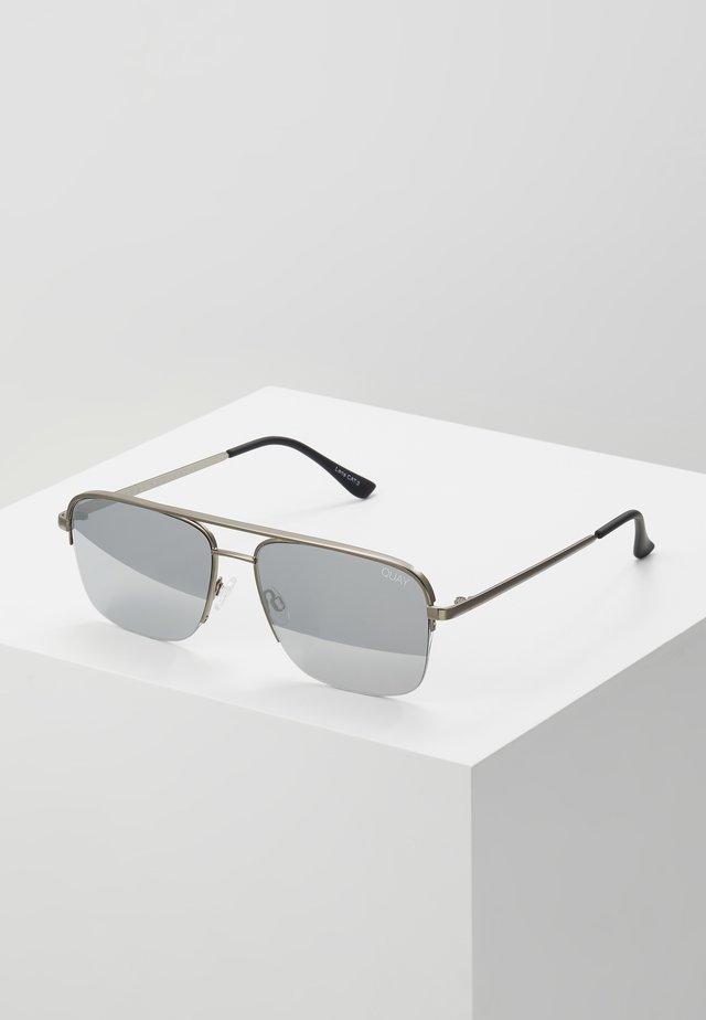 POSTER BOY RIMLESS - Sluneční brýle - gunmetal, grey