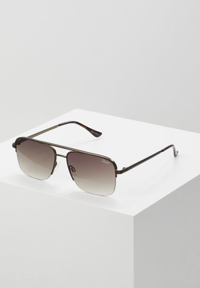 POSTER BOY RIMLESS - Solglasögon - bronze-coloured/brown