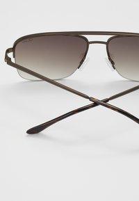 QUAY AUSTRALIA - POSTER BOY RIMLESS - Zonnebril - bronze-coloured/brown - 2